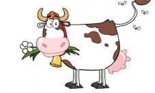 Dibujos de vacas lecheras