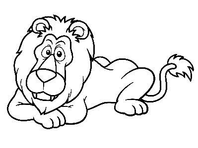 Dibujos De Leones Para Colorear Reino Animal