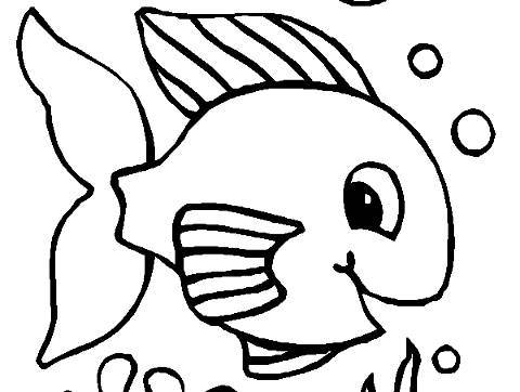 Dibujos de peces para colorear - Reino animal